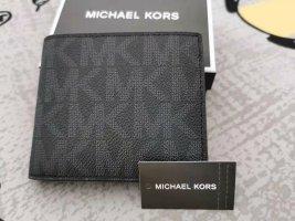 Michael Kors Portemonnee zwart-zilver Leer