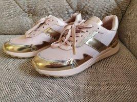 Michael Kors Monroe Trainer gr. 40 soft pink sneaker rosa rosè gold silber gold Metallic Turnschuhe