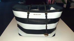 Michael Kors Shoulder Bag white-black