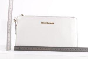 Michael Kors Pochette white-gold-colored