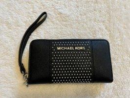 Michael Kors Portafogli nero-argento
