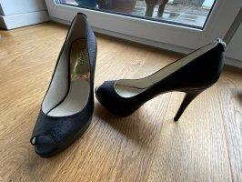 Michael Kors Peep Toe Pumps black