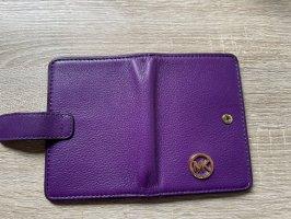 Michael Kors Sac à main violet cuir