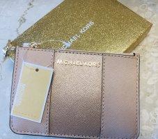 Michael Kors Key Case rose-gold-coloured