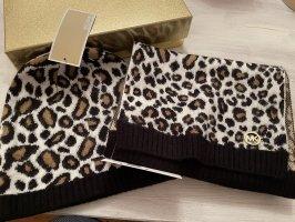 Michael Kors Knitted Scarf black-brown