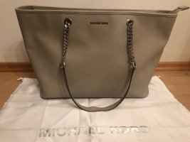 Michael Kors Shopper hellgrau