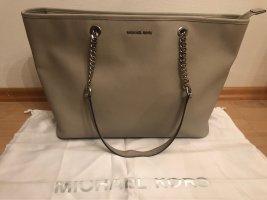 Michael Kors Shopper gris clair