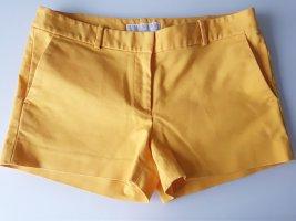 MICHAEL KORS Shorts, Gr.36, gelb, Baumwolle