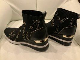 Michael Kors Skyler high Black Sneaker