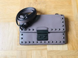Michael Kors Sloan Studded Gusset Leather Tasche