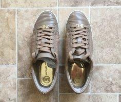 Michael Kors Basket à lacet beige cuir