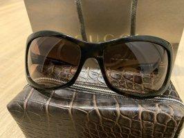 Michael Kors Lunettes de soleil ovales brun foncé
