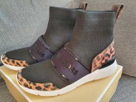 Michael Kors Sterling Bootie gr. 36 Sneaker Turnschuhe schuhe schwarz braun leo