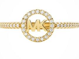 Michael Kors Sterling Silver 925 Ring Gold NEU