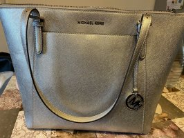 Michael Kors Carry Bag silver-colored