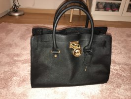Michael Kors Handbag black-gold-colored