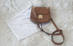 Michael Kors Tasche Crossbody in braun mit Goldapplikationen