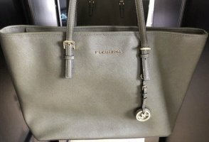 Michael Kors Handbag green grey leather