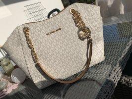 Michael Kors Borsa shopper beige chiaro-bianco sporco