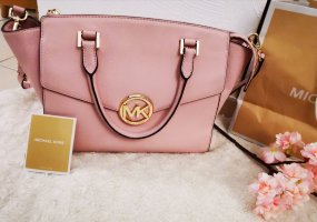 MICHAEL KORS Tasche Hudson Satchel LG Soft Pink Rosa Rose