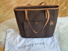 Michael Kors Sac porté épaule brun foncé
