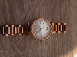 Michael Kors Watch With Metal Strap bronze-colored-rose-gold-coloured