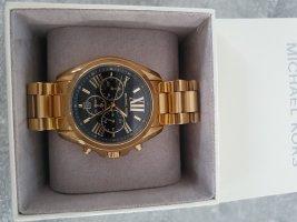 Michael Kors Zegarek analogowy czarny-złoto