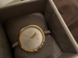 Michael kors Uhr Gold Silber weiß edel