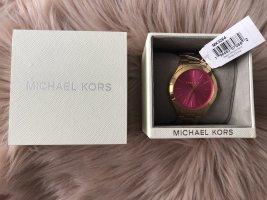 Michael Kors Orologio con cinturino di metallo oro-rosa