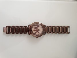 Michael Kors Montre analogue bronze-doré