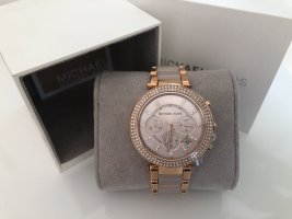 Michael Kors Watch With Metal Strap multicolored mixture fibre