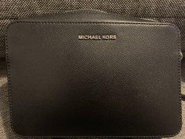 Michael Kors Torba na ramię czarny-srebrny Skóra