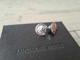 Michael Kors Zarcillo color plata-gris claro