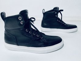 Michalsky High Top Sneaker black-white leather