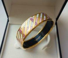 MICHAELA FREY WILLE Armreif Armband Geometrie Muster gold rosa VINTAGE