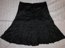 Aust Jupe mi-longue noir polyester