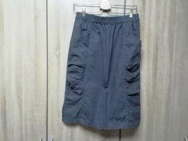 bpc bonprix collection Midi Skirt brown linen