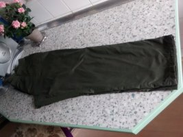 Thermal Trousers forest green cotton