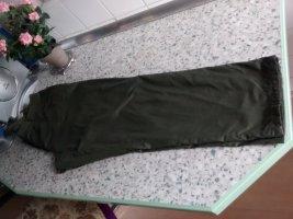 Pantalon thermique vert forêt coton