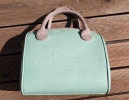 Minfarbene kleine Handtasche