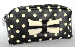 MINI CLUTCH POLKA DOT WITH BOW