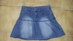Colours of the World Jeansowa spódnica niebieski