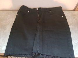 Bershka Jupe taille haute noir