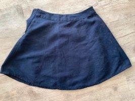 H&M Spódnica z koła ciemnoniebieski-niebieski