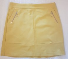 Orsay Mini rok limoen geel Katoen