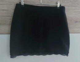 Amisu Minifalda negro