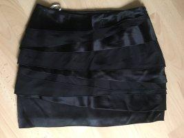 KAREN MILLEN Minifalda negro Seda