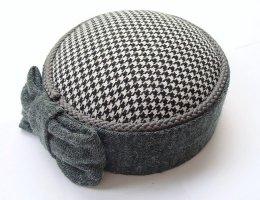 Chapeau feutre multicolore mohair