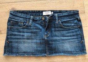Abercrombie & Fitch Denim Skirt dark blue