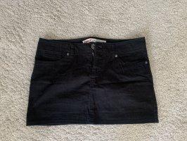 Only Jeansowa spódnica czarny